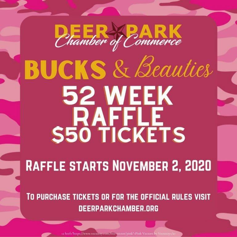 52 Week Raffle $50 Tickets