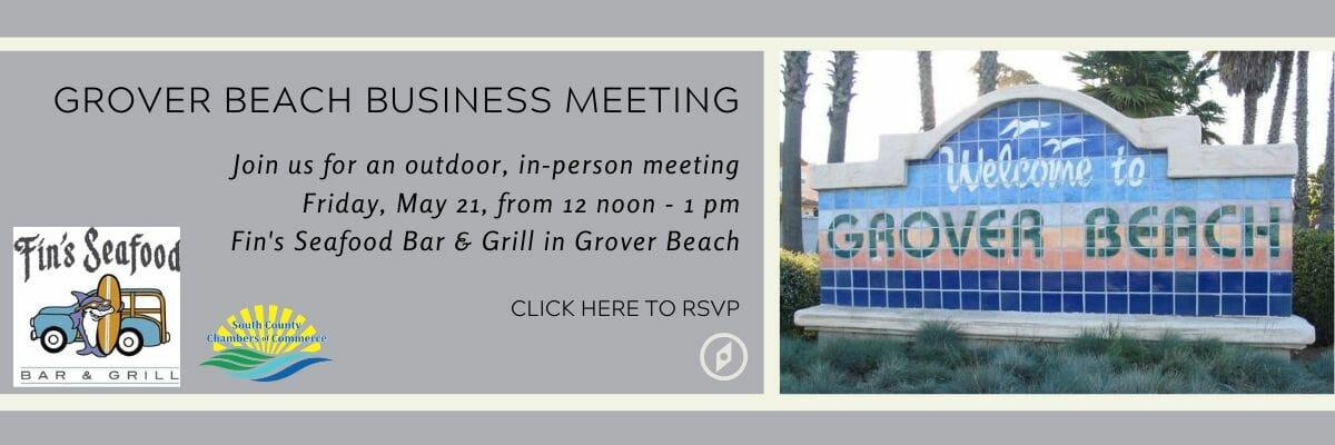 Grover Beach meeting