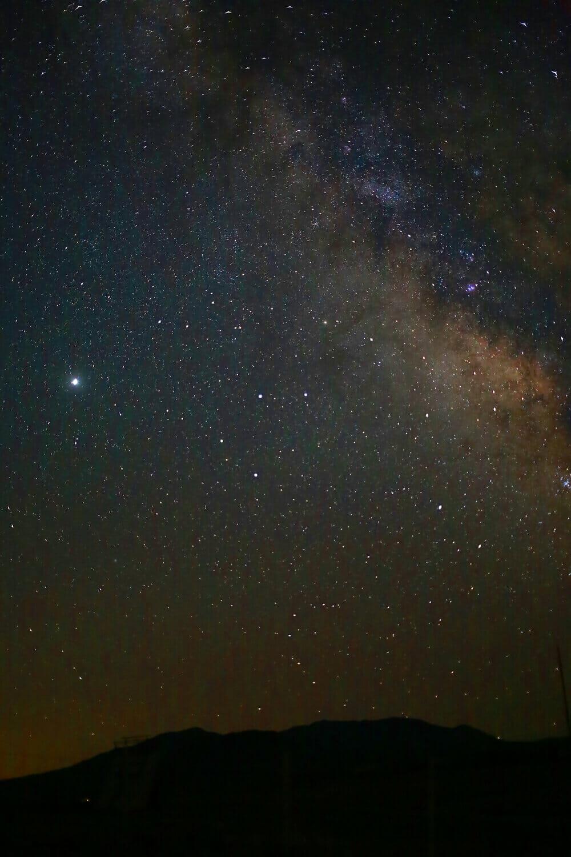 Milky Way over Buffalo Mountain