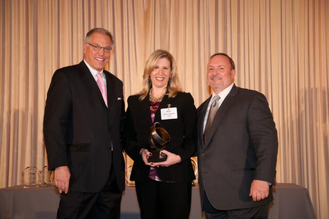 Nancy Capadona gold circle award