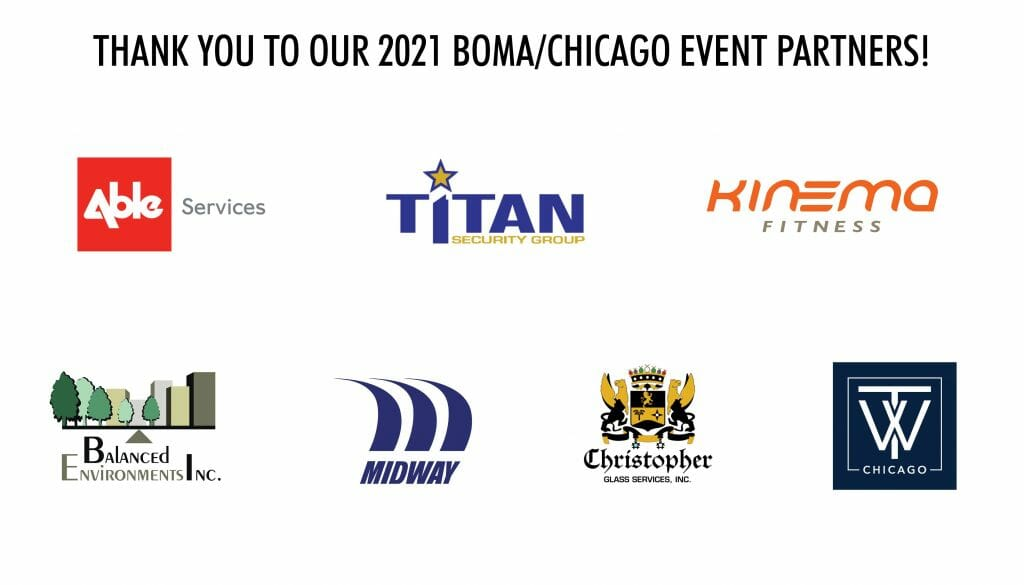 2021 boma chicago event sponsors all