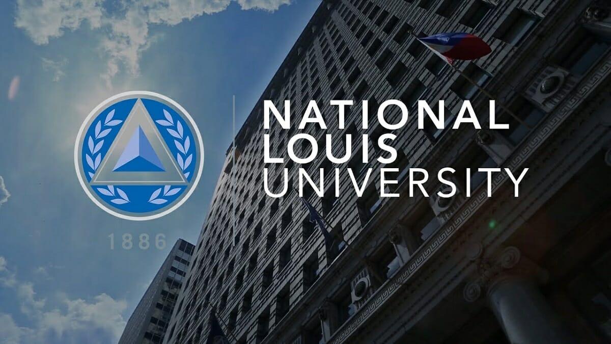 National Louis University NLU Webpage Header