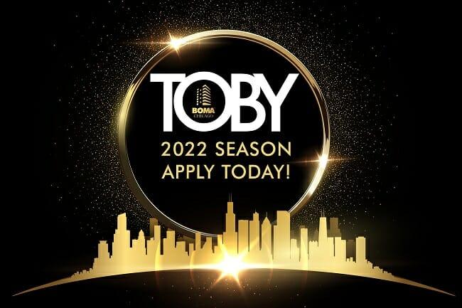 2022 TOBY Application Header