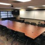 Board Room Board Table Setting