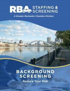 RBA Staffing & Screening Background Screening Booklet