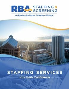 RBA Staffing & Screening Staffing Services Booklet