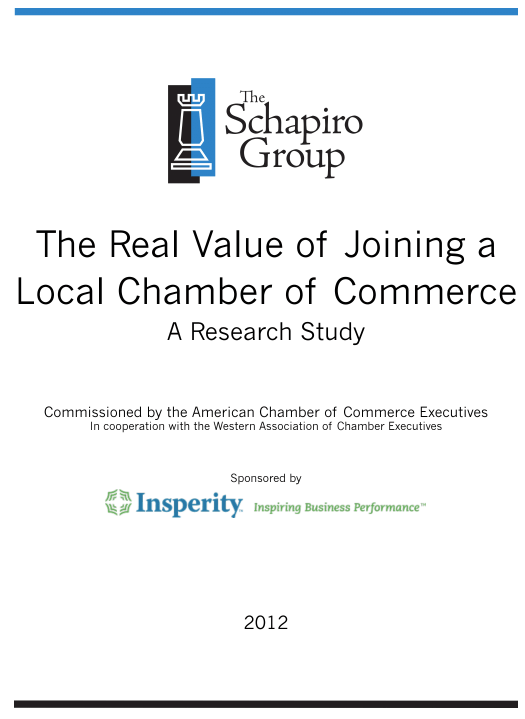 Value of Joining a chamber study