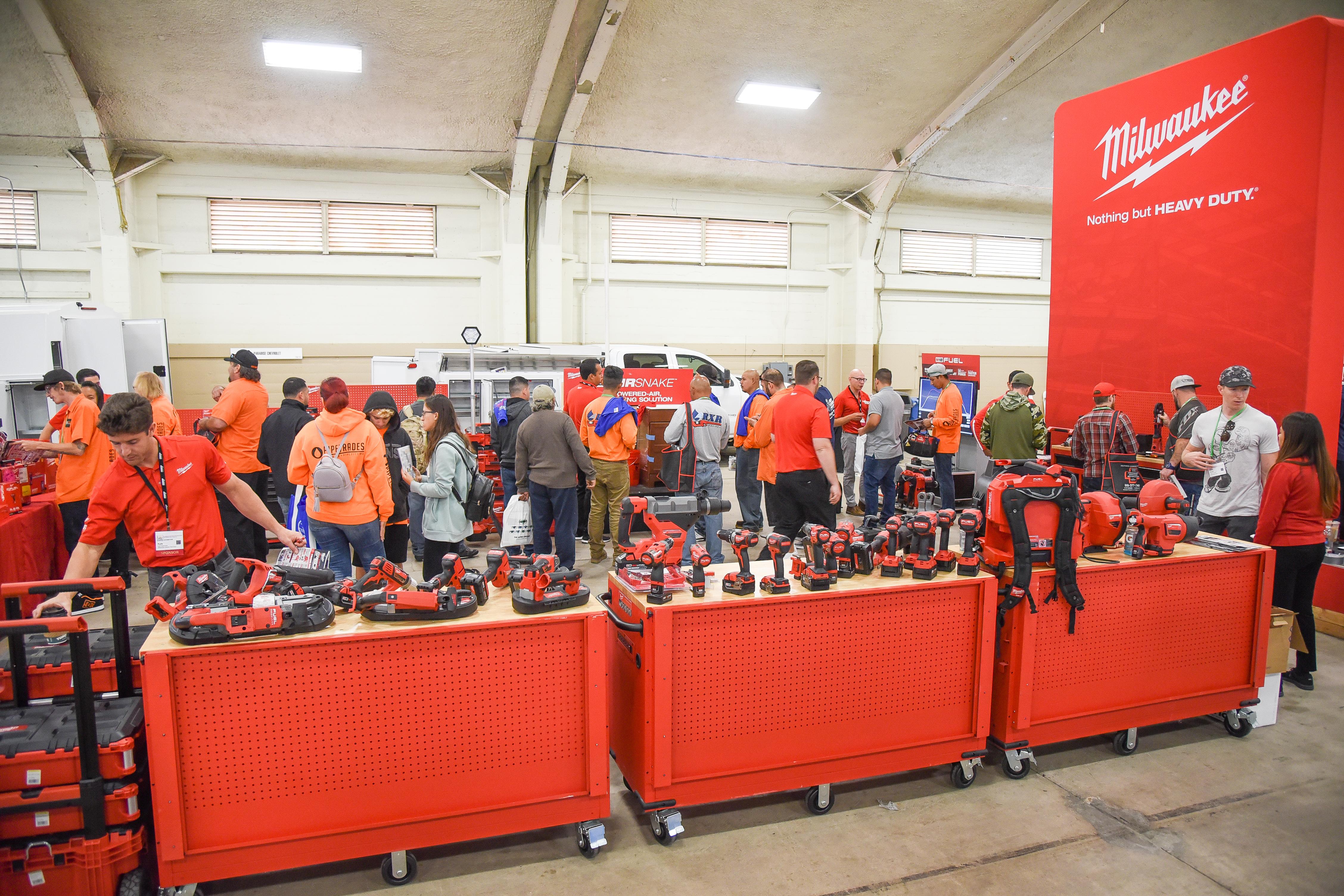 PHC Expo San Diego Milwaukee Tool