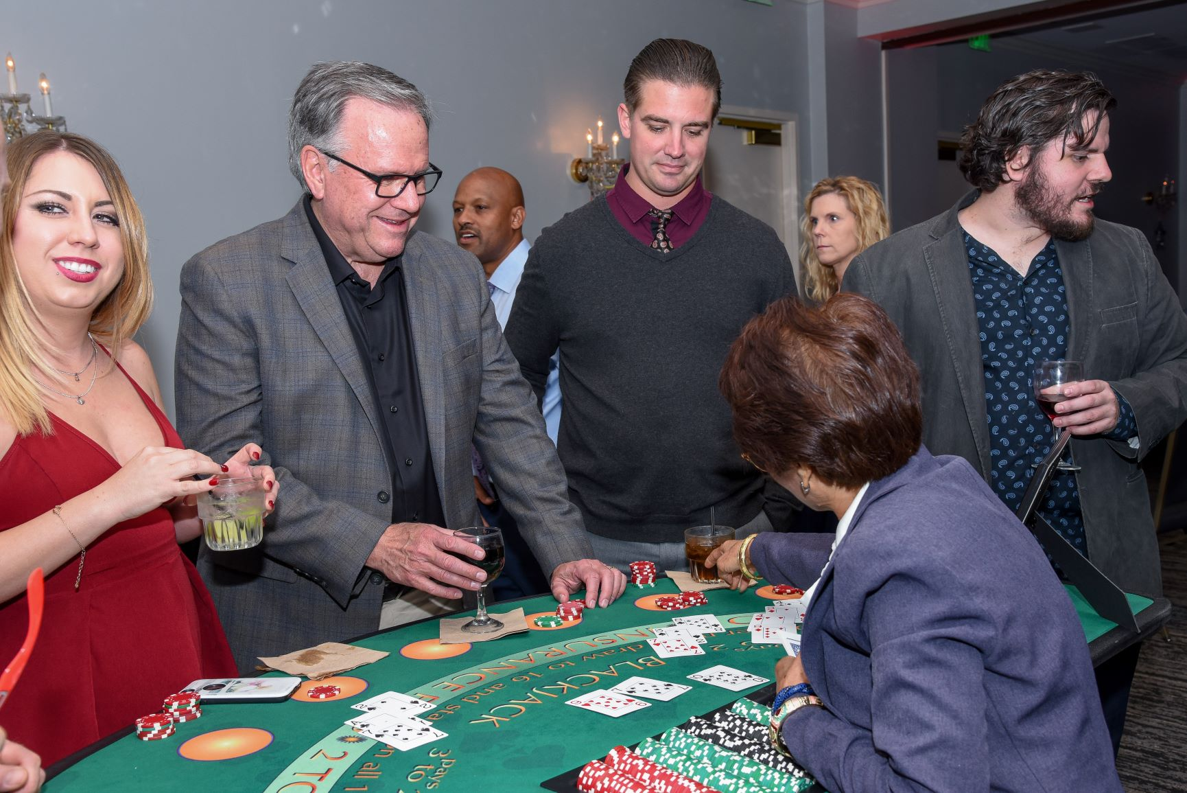 PHCC San Diego Holiday Casino Night 2018