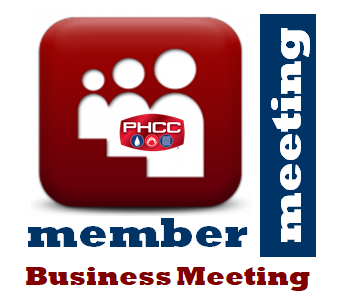 PHCC San Diego Member Business Meeting