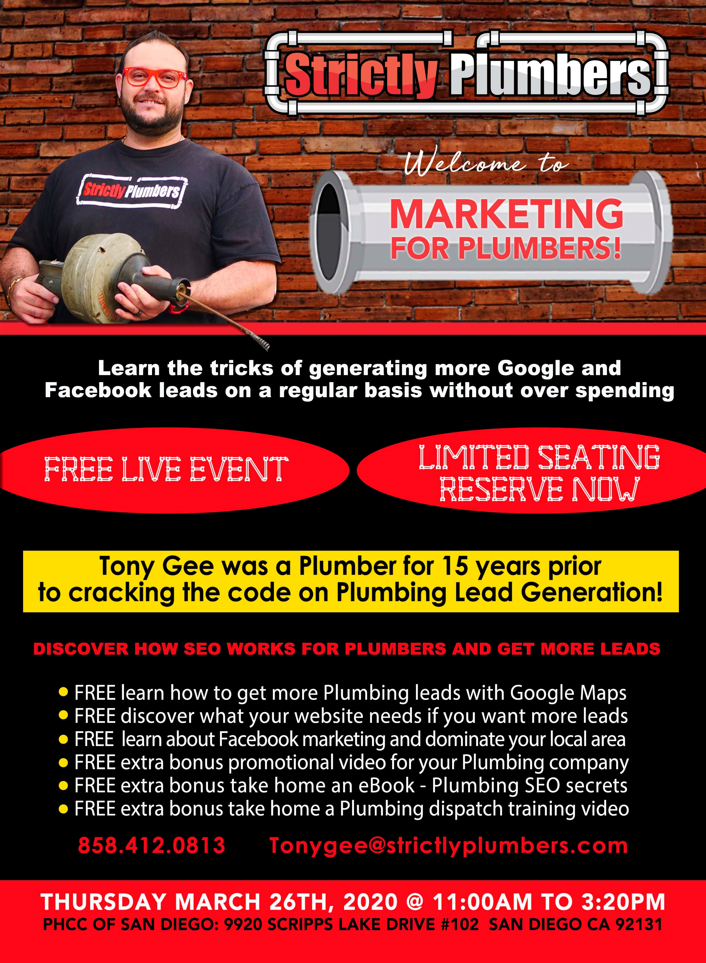 Lead Generation for Plumbers by Strictly Plumbers March 2020