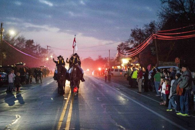 Members of the 1st Cavalry Division horse detachment at parade