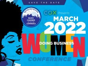 March 2022 womens conference graphic