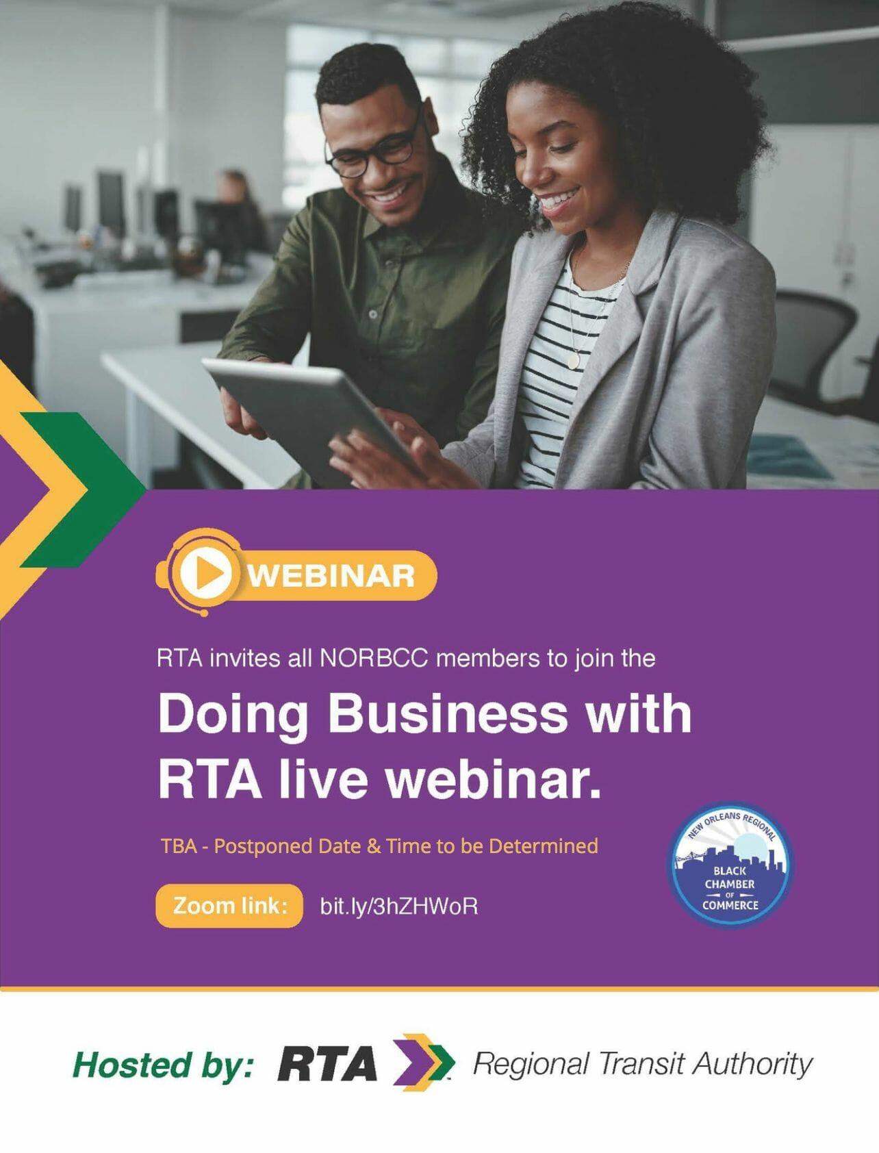 RTA Live Webinar