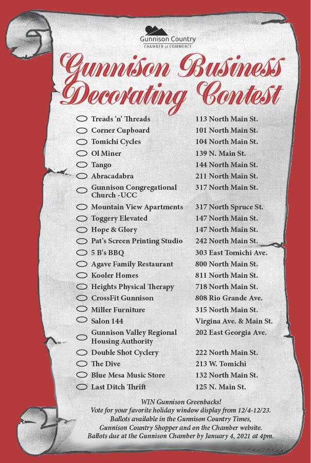 Decorating-Contest