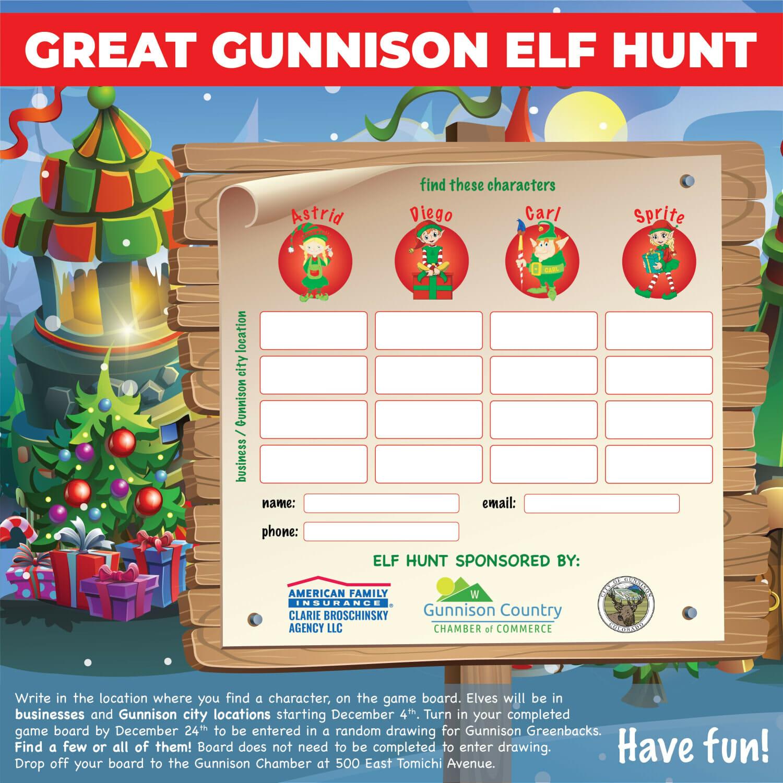 Elf Hunt Score Card