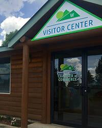 Visitor Center Door
