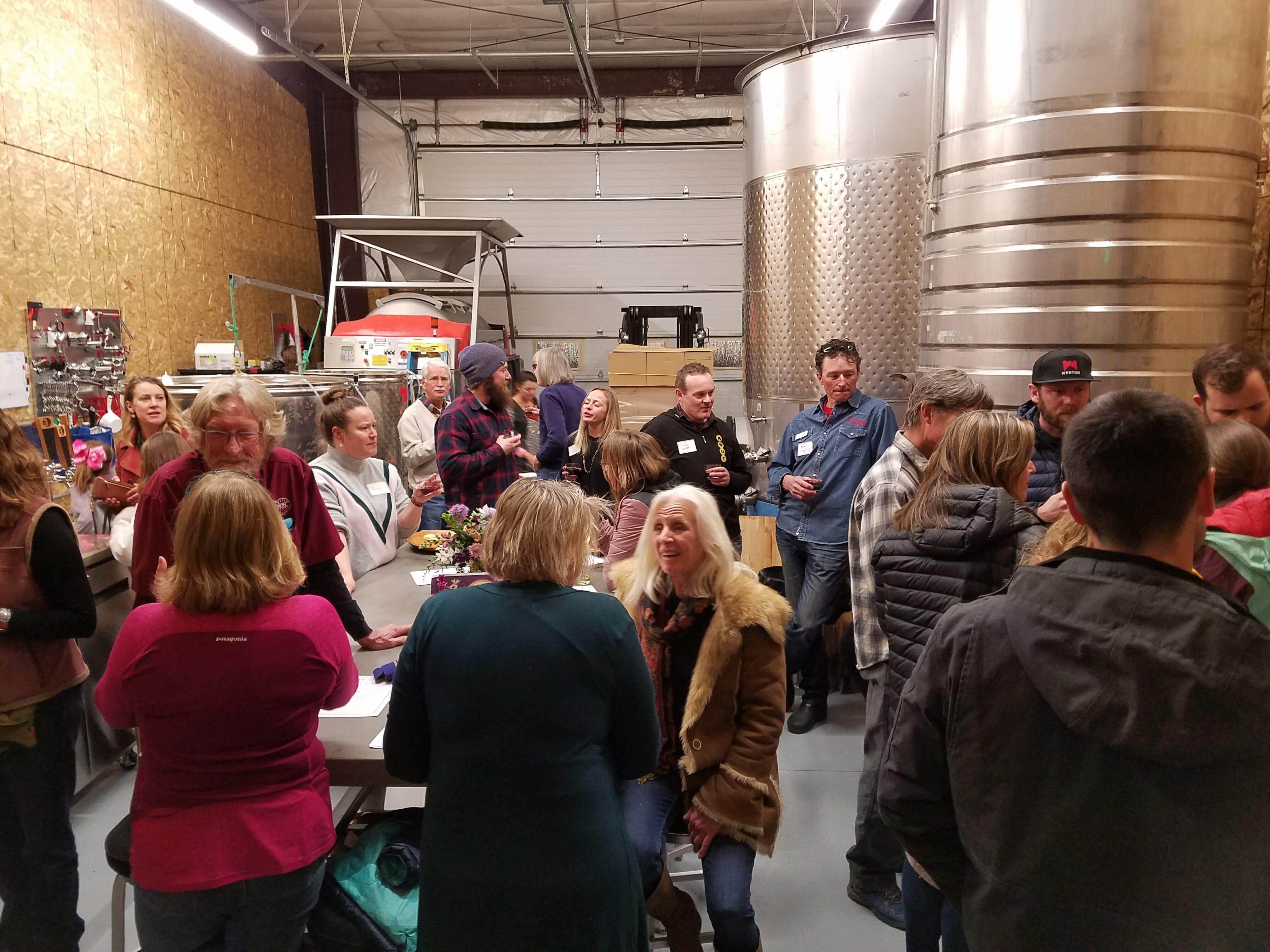 Buckel Family Wines open house