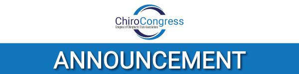 Chiro congress announcement