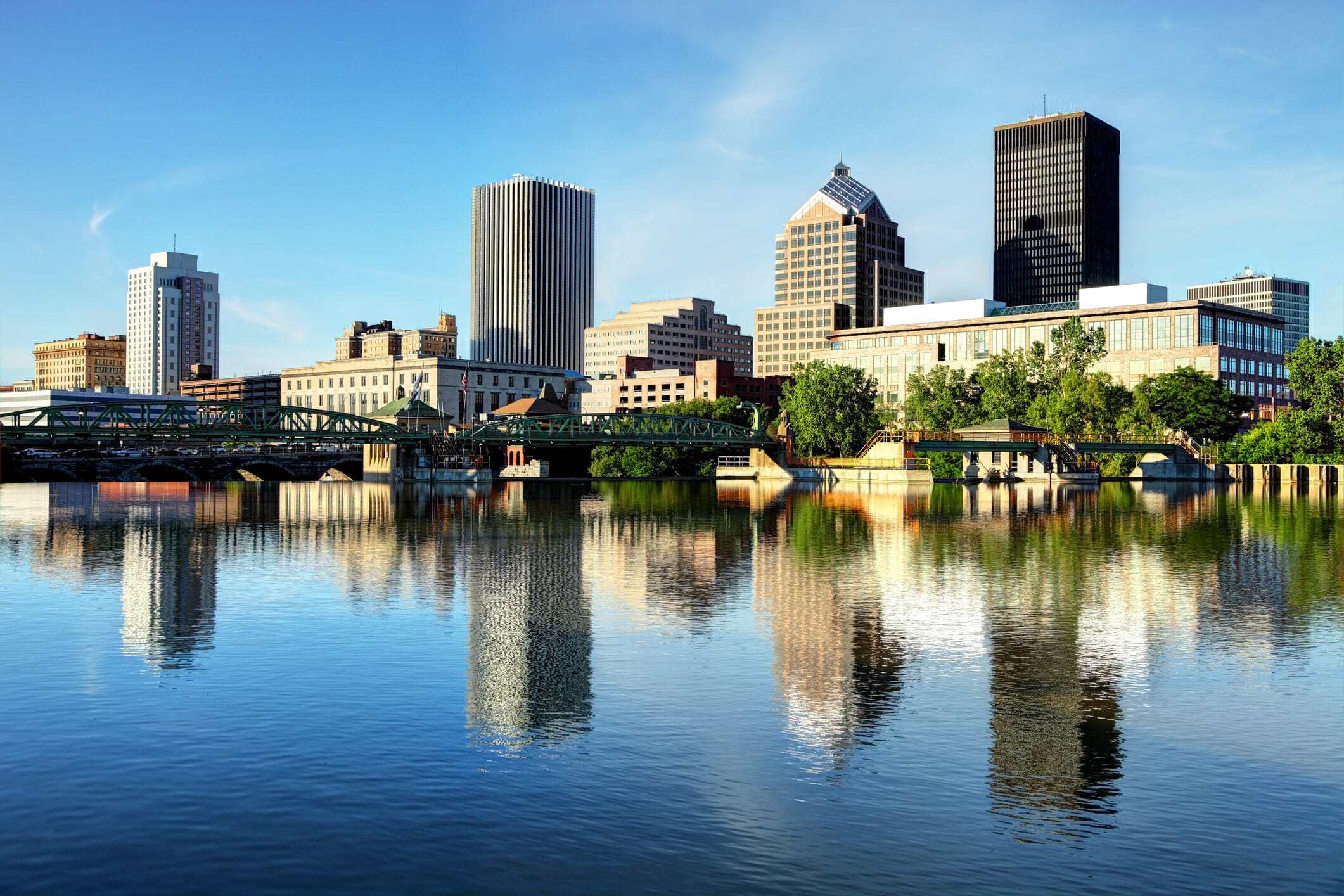 Rochester is a city and the county seat of Monroe County in the state of New York. Rochester is New York's third most populous city after New York City and Buffalo