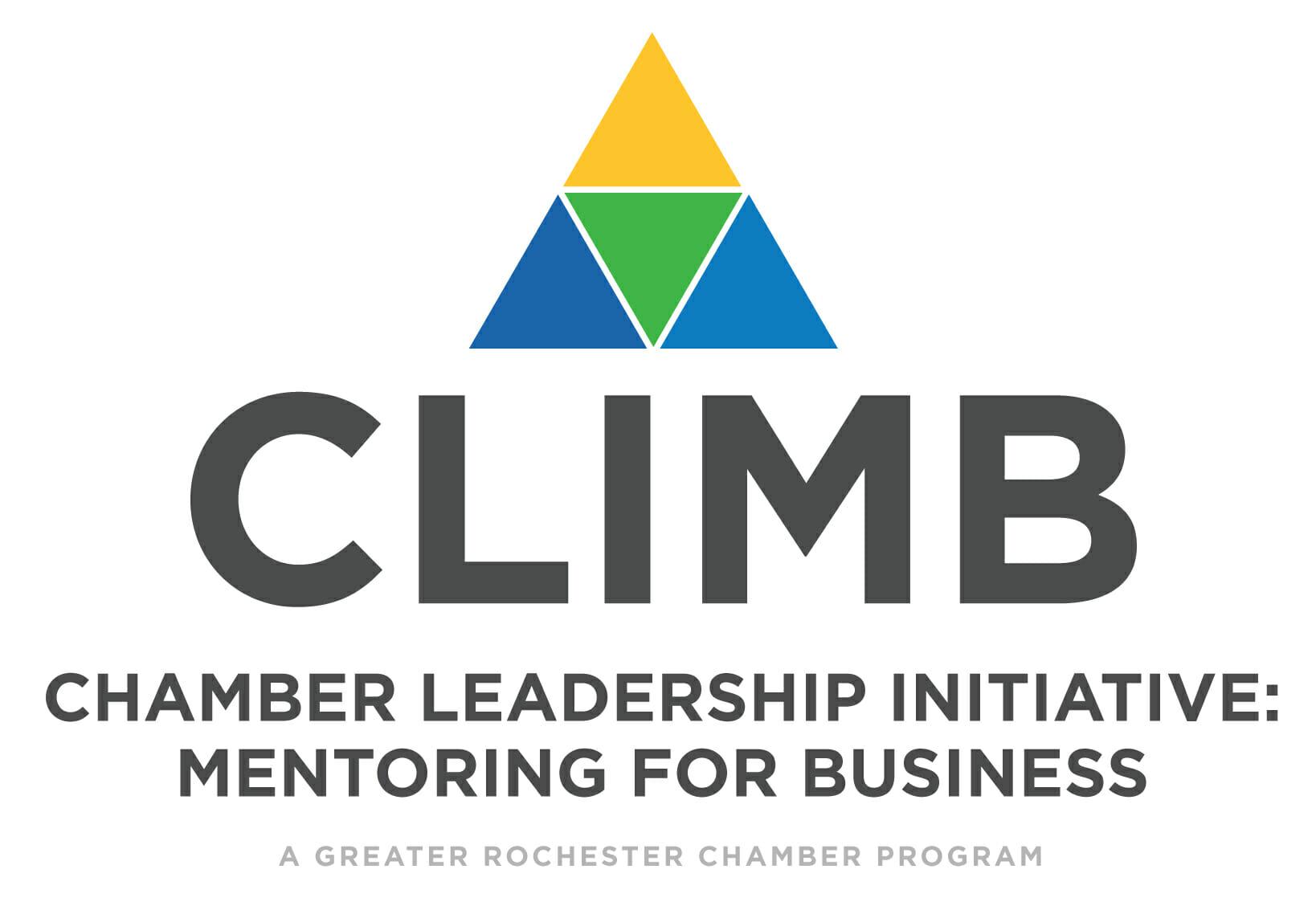 CLIMB-Logo---Greater-Rochester-Chamber---White-Vertical