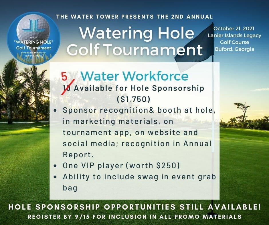 5 hole sponsorships left