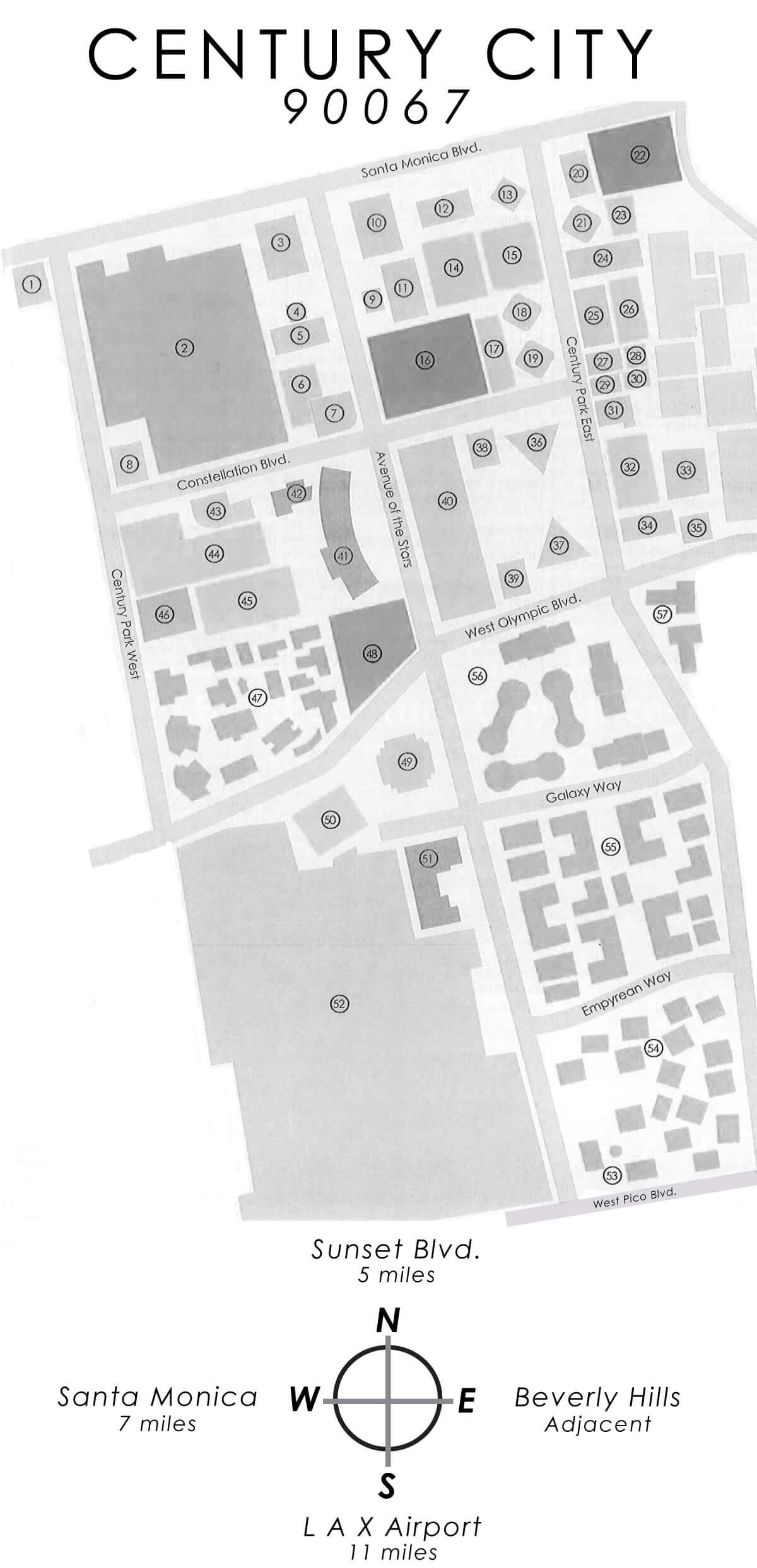 Century City Map