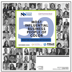 50 most influencial business people of color cover