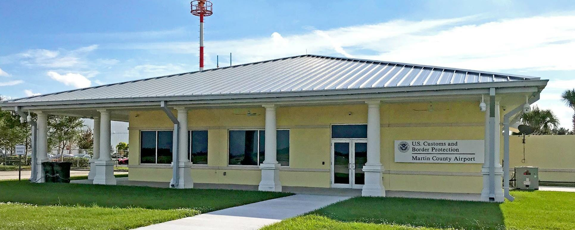 NEW CUSTOMS FACILITY COMES TO MARTIN COUNTY