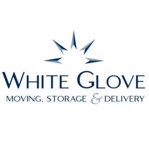 white glove moving and storage logo
