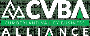 CVBA white green logo