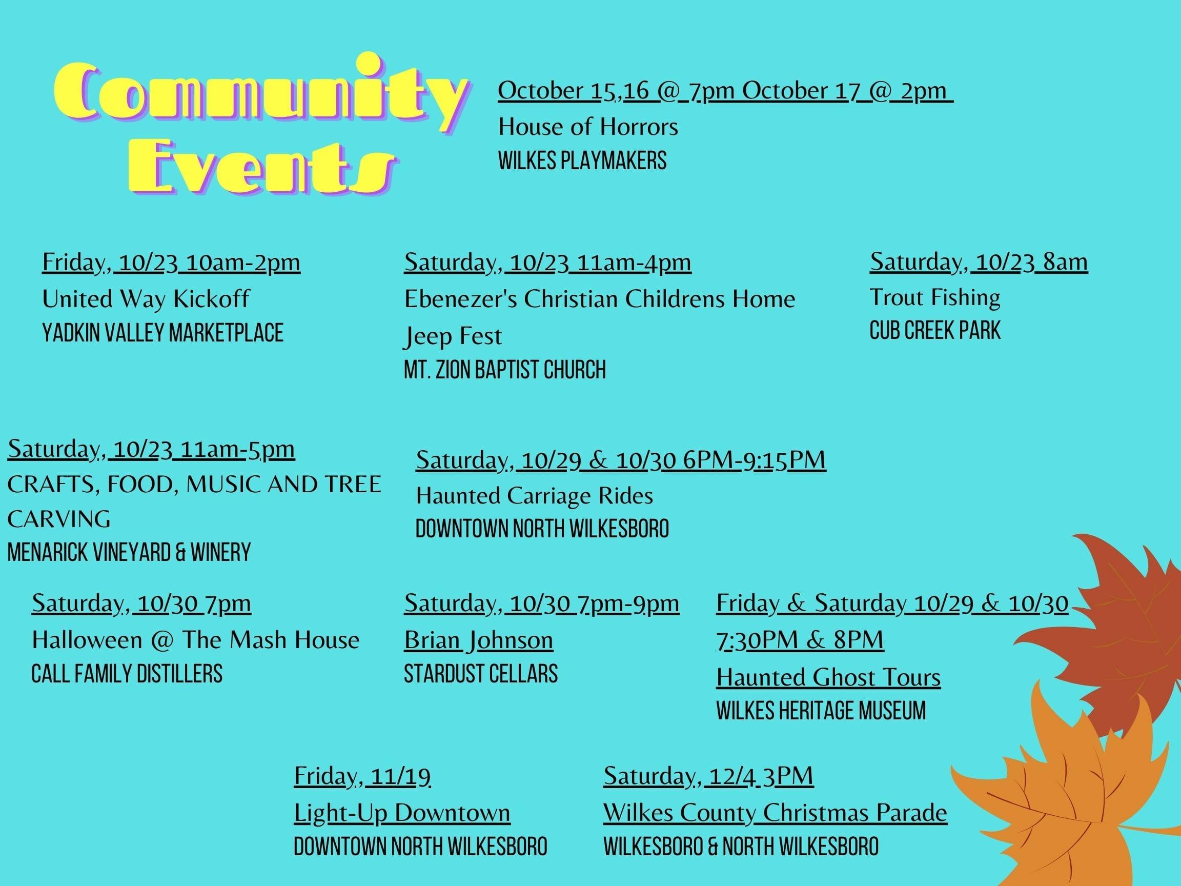 Community Events (9)