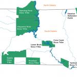 South Dakota Tribal Court Map
