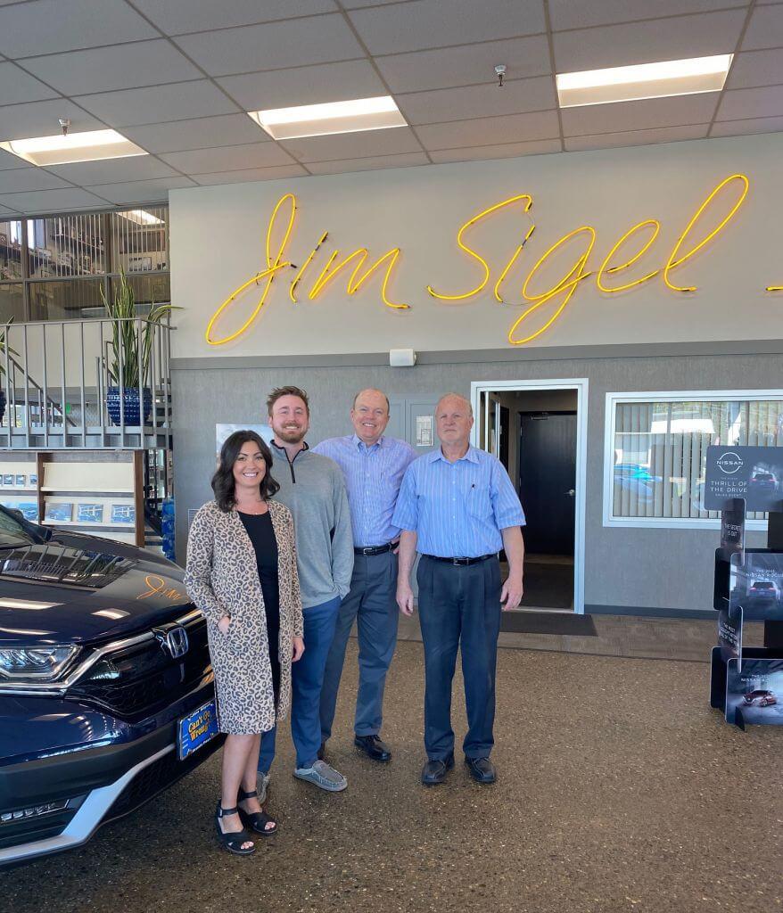 Jim Sigel Automotive Family