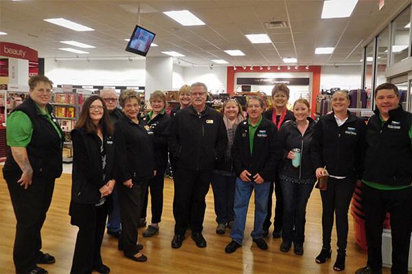 group shot of ambassadors