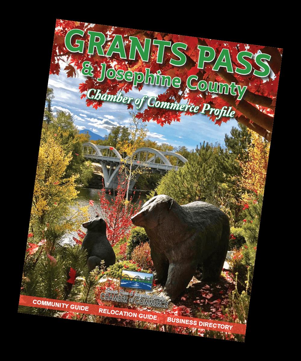 Grants Pass Chamber magazine cover