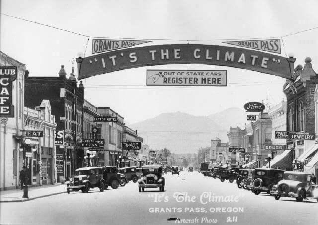 historic town photo