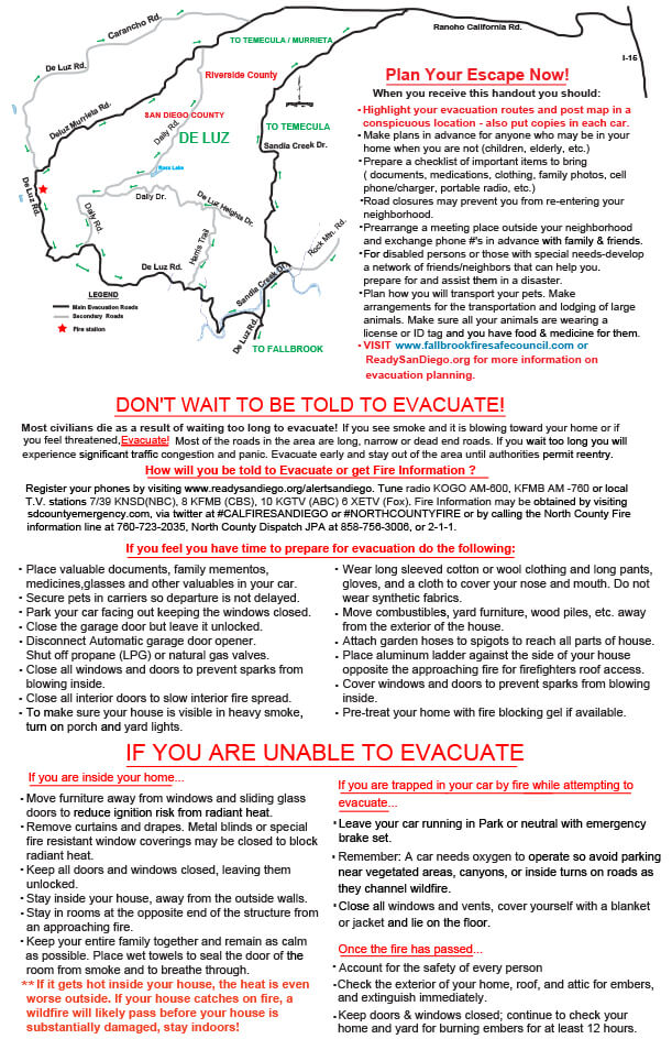 Evacuation Map 2