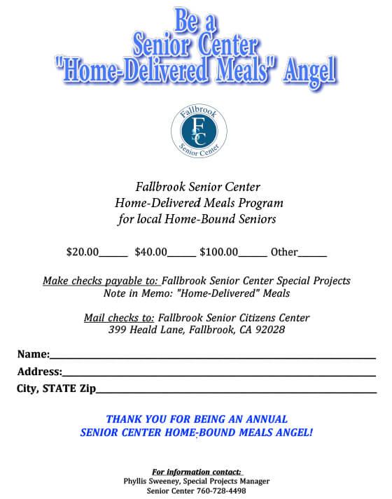 angel meal flyer