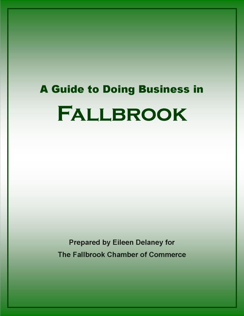 Guide to doing business in fallbrook cover image