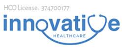 Innovative healthcare logo