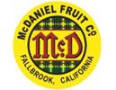 McDaniel Fruit logo