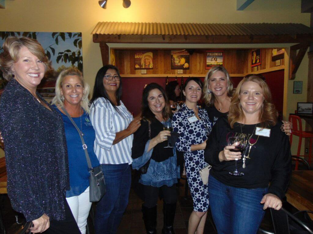 Ladies enjoying our November 2019 Women's After Hours Networking event