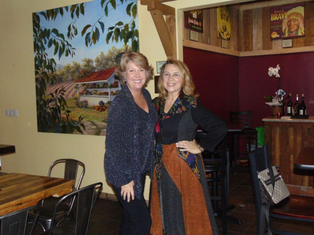 Miriam Key and Marianne Nolte