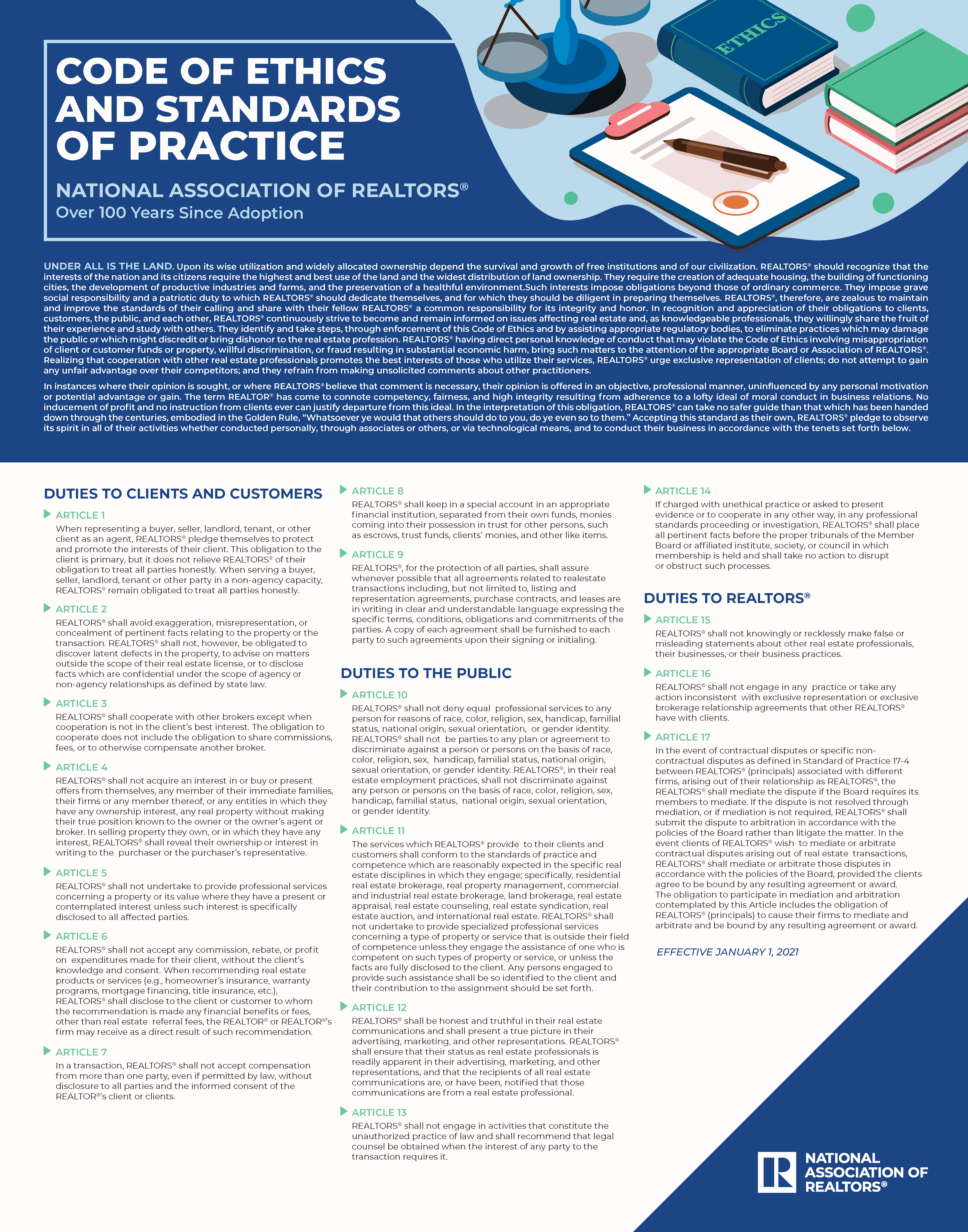 2021-03-26-COE-Standards-of-practice-color-poster