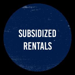 subsidized rentals