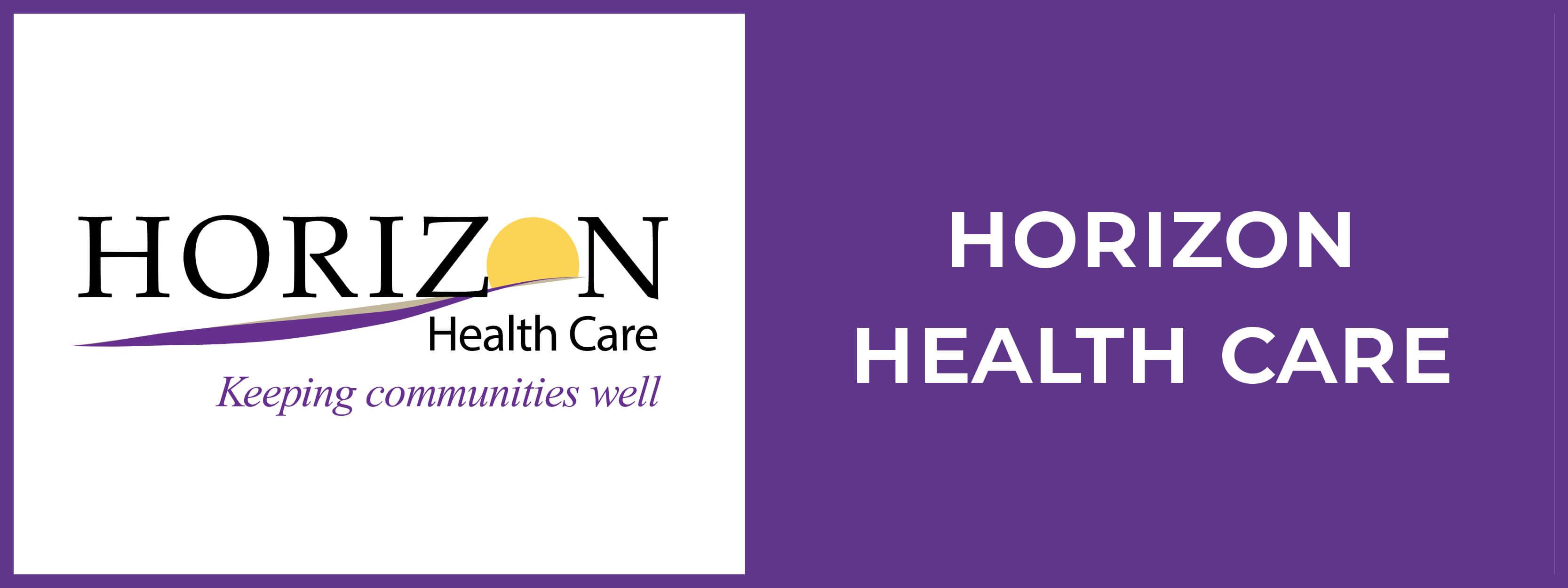 Horizon Health Care Button