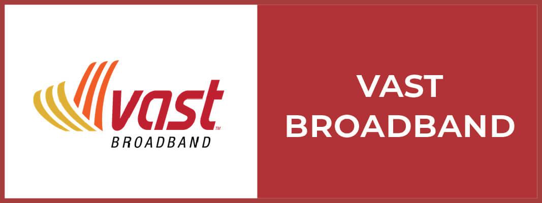 Vast Broadband Button