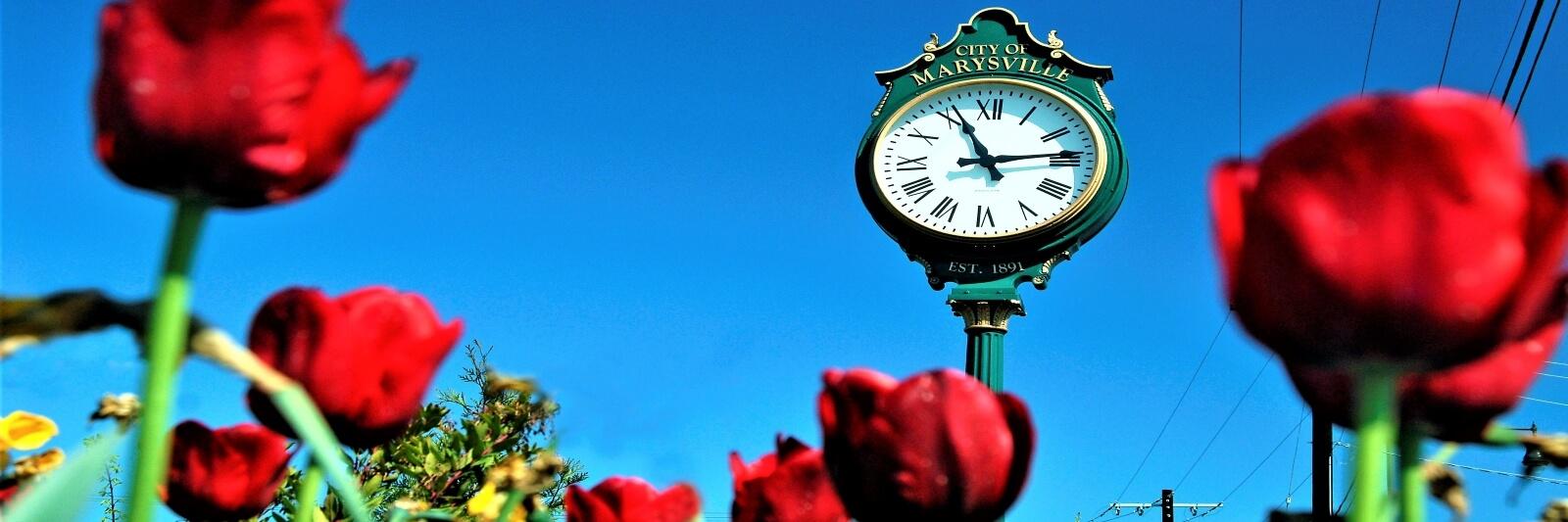 Marysville Clock
