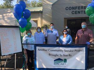 Volunteers at GACAR
